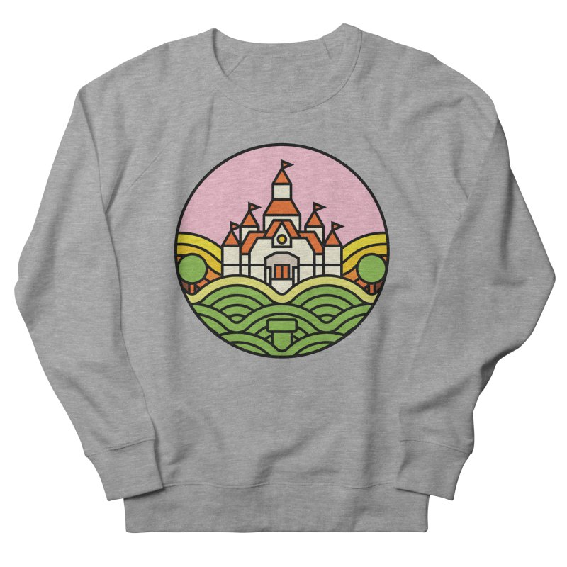 The Mushroom Kingdom Women's French Terry Sweatshirt by Jason Cryer