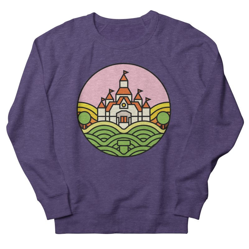 The Mushroom Kingdom Men's Sweatshirt by jasoncryer's Artist Shop