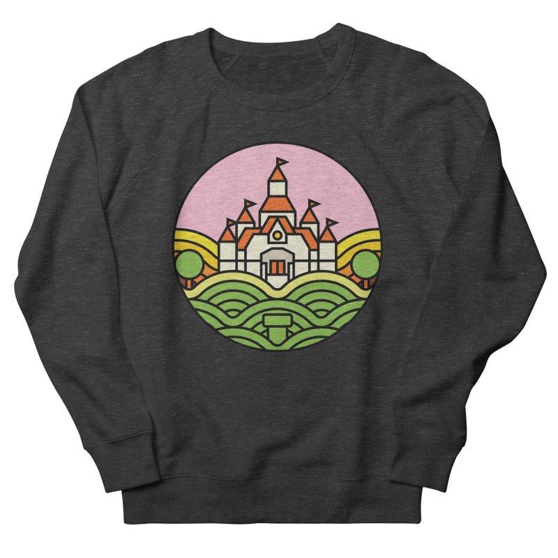 The Mushroom Kingdom Men's French Terry Sweatshirt by Jason Cryer