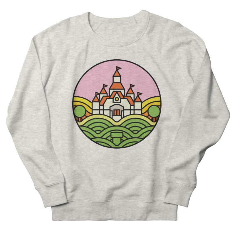 The Mushroom Kingdom Men's Sweatshirt by jasoncryer's Artist Shop
