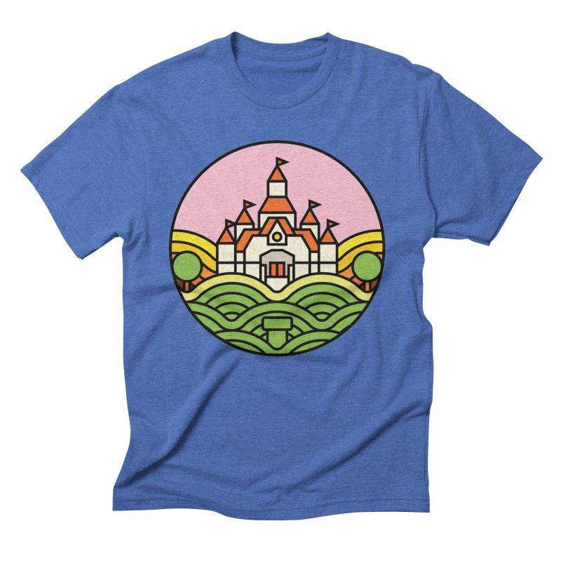 The Mushroom Kingdom Men's Triblend T-Shirt by jasoncryer's Artist Shop