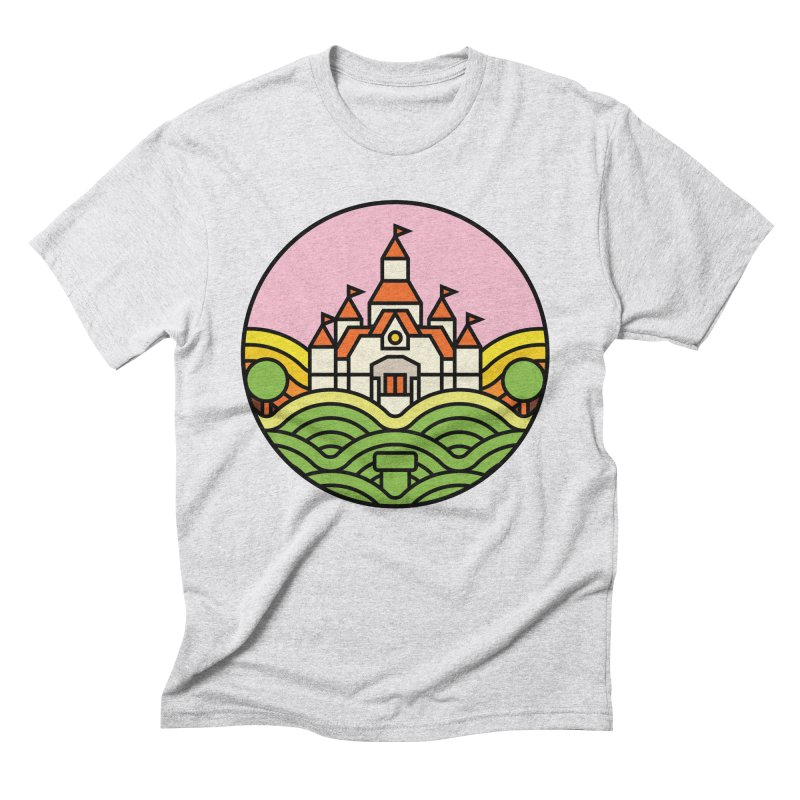 The Mushroom Kingdom Men's Triblend T-Shirt by Jason Cryer