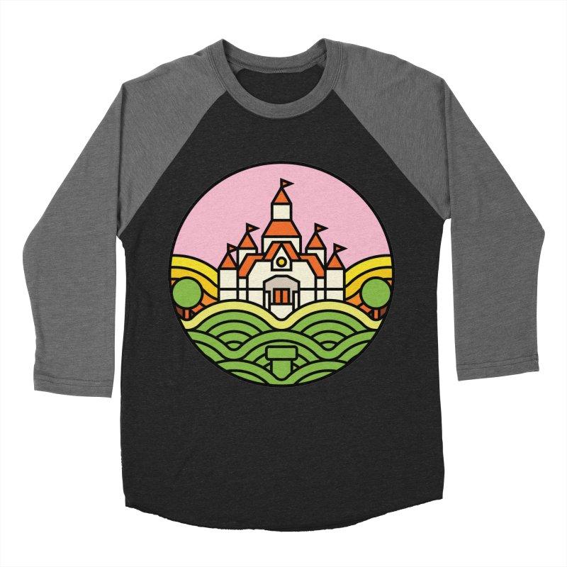 The Mushroom Kingdom Women's Baseball Triblend T-Shirt by jasoncryer's Artist Shop