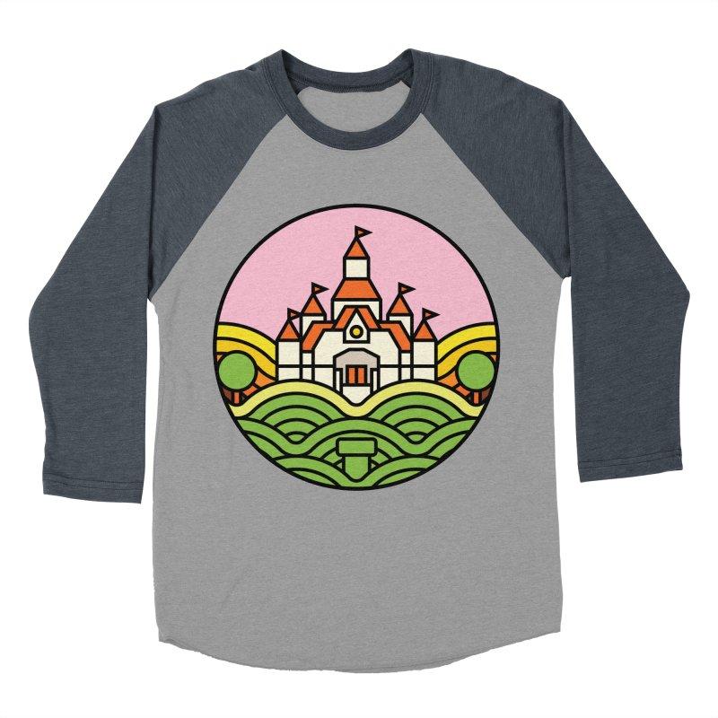 The Mushroom Kingdom Women's Baseball Triblend Longsleeve T-Shirt by jasoncryer's Artist Shop