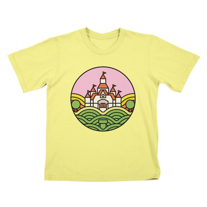 The Mushroom Kingdom Kids T-shirt by jasoncryer's Artist Shop