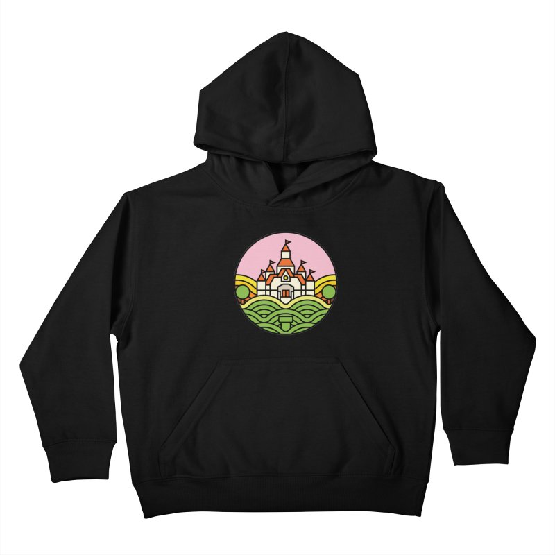 The Mushroom Kingdom Kids Pullover Hoody by jasoncryer's Artist Shop