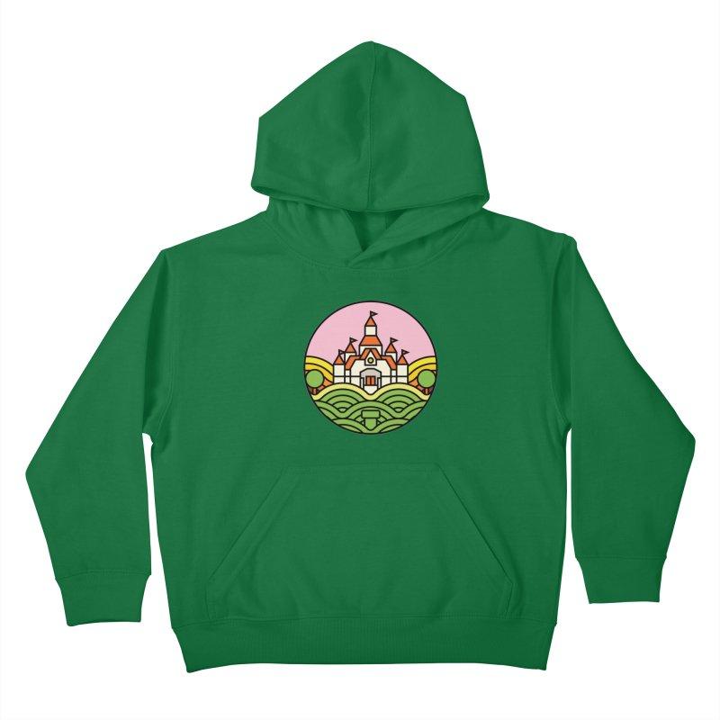 The Mushroom Kingdom Kids Pullover Hoody by jasoncryer's Artist Shop