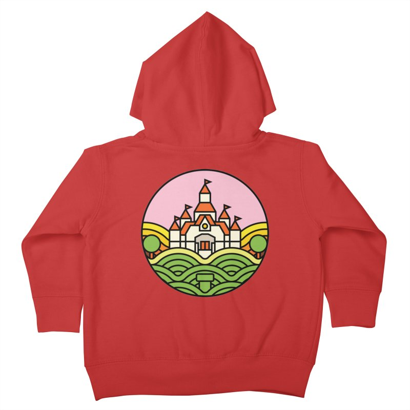 The Mushroom Kingdom Kids Toddler Zip-Up Hoody by jasoncryer's Artist Shop