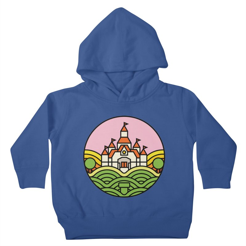The Mushroom Kingdom Kids Toddler Pullover Hoody by jasoncryer's Artist Shop