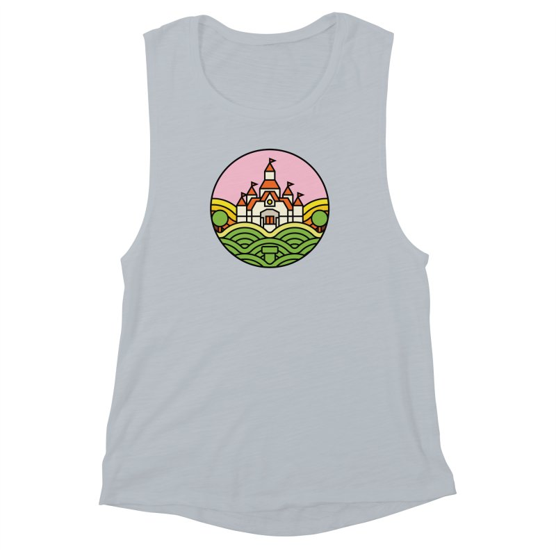The Mushroom Kingdom Women's Muscle Tank by jasoncryer's Artist Shop