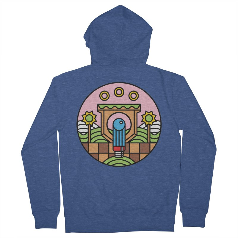 The Blue Blur Women's Zip-Up Hoody by jasoncryer's Artist Shop