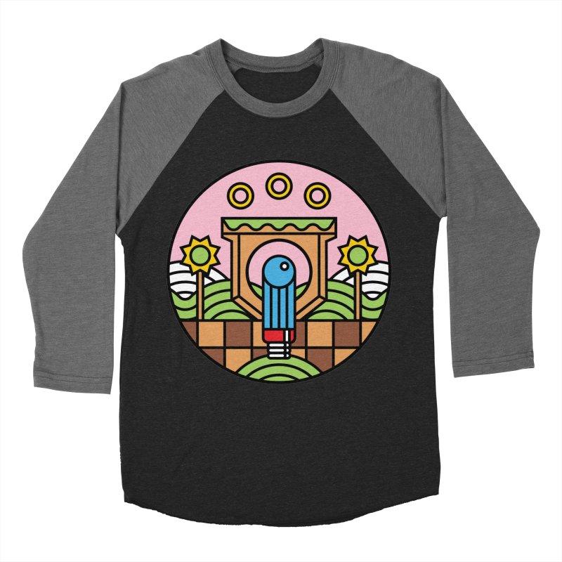 The Blue Blur Men's Baseball Triblend T-Shirt by jasoncryer's Artist Shop