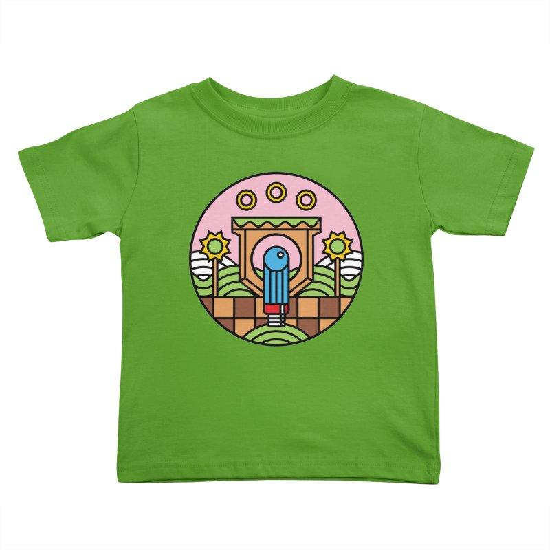 The Blue Blur Kids Toddler T-Shirt by Jason Cryer