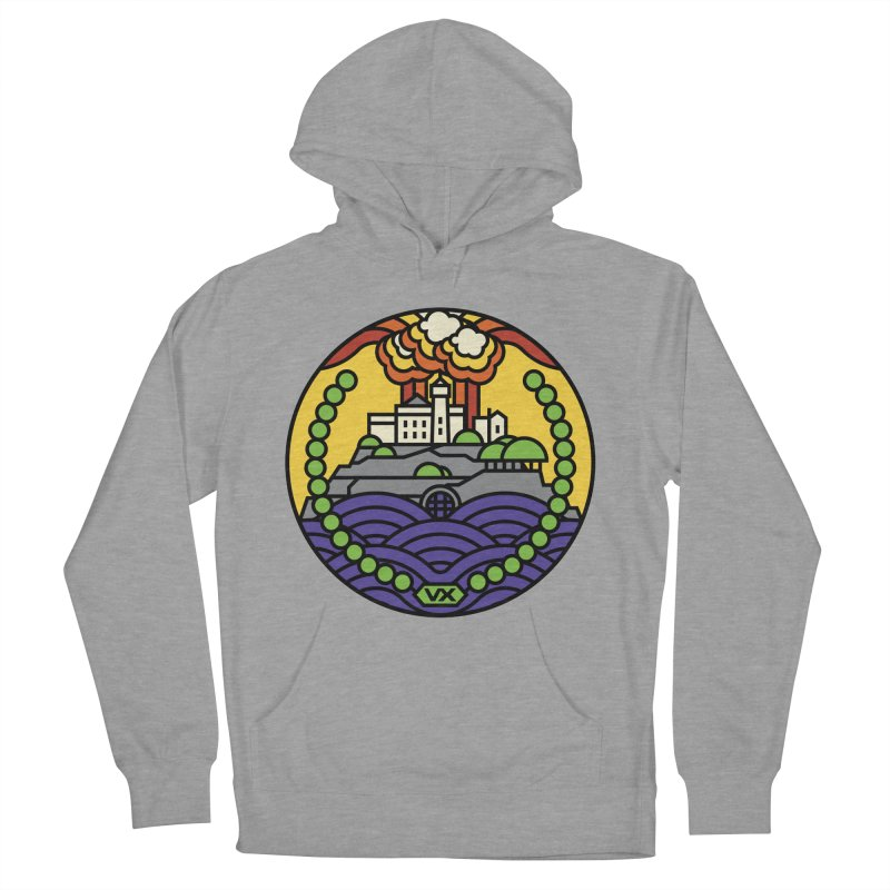 The Rock Men's French Terry Pullover Hoody by jasoncryer's Artist Shop