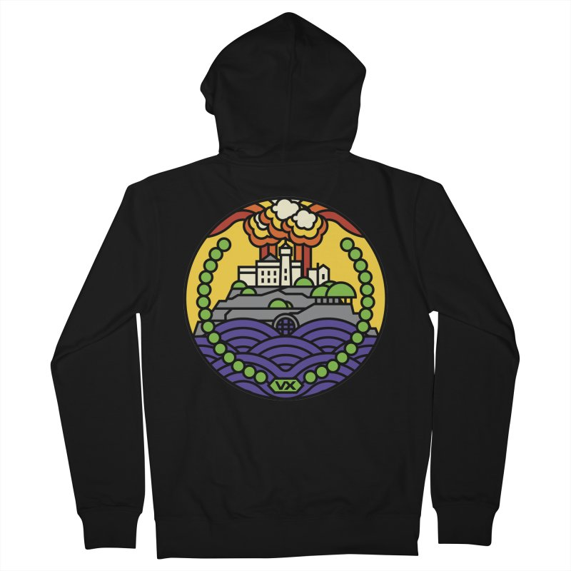The Rock Men's Zip-Up Hoody by jasoncryer's Artist Shop