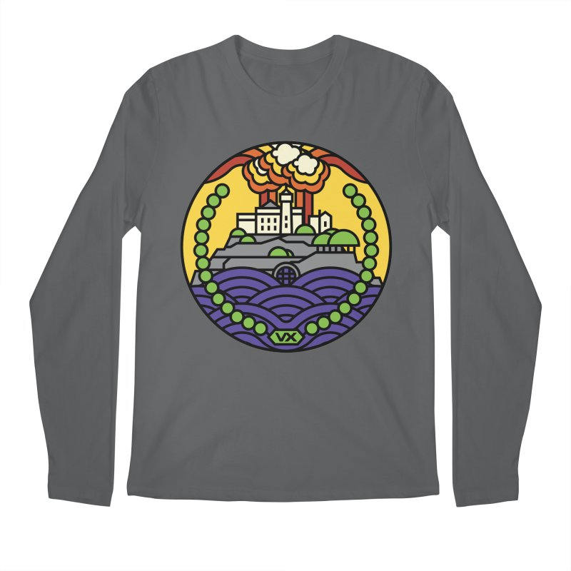 The Rock Men's Regular Longsleeve T-Shirt by jasoncryer's Artist Shop