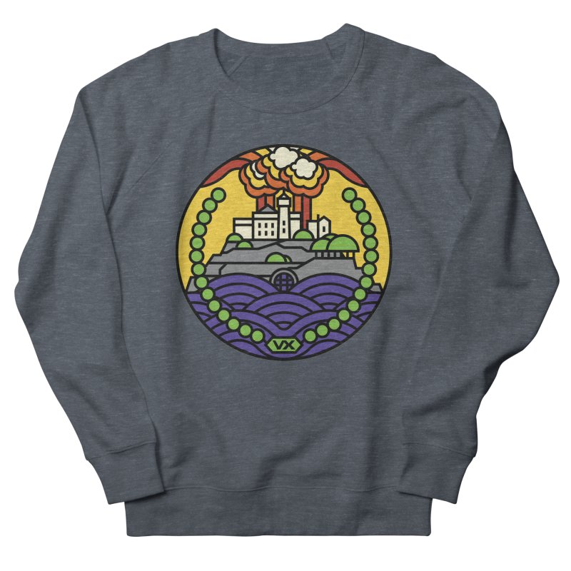 The Rock Men's French Terry Sweatshirt by jasoncryer's Artist Shop