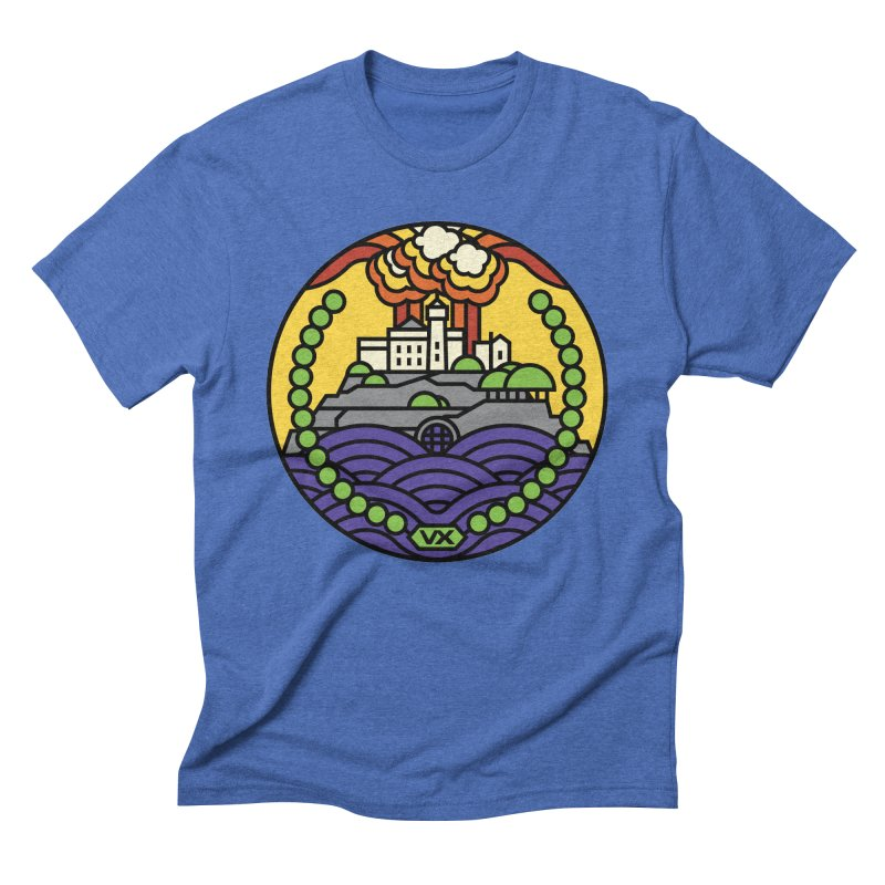 The Rock Men's Triblend T-Shirt by Jason Cryer