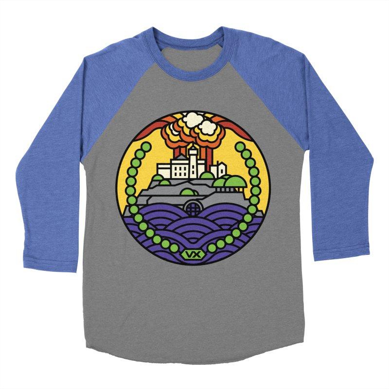 The Rock Women's Baseball Triblend T-Shirt by jasoncryer's Artist Shop