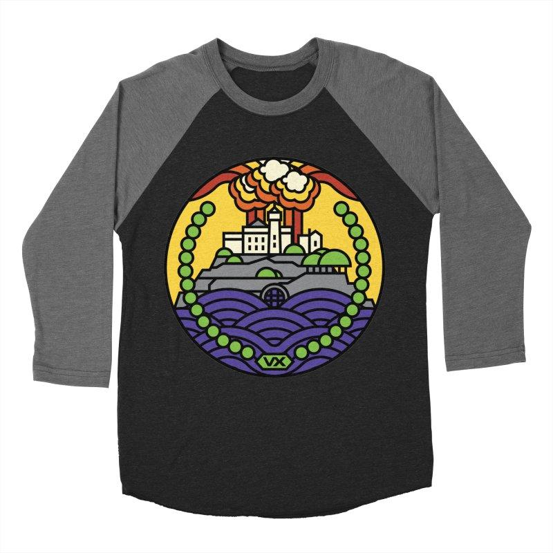 The Rock Women's Baseball Triblend Longsleeve T-Shirt by jasoncryer's Artist Shop