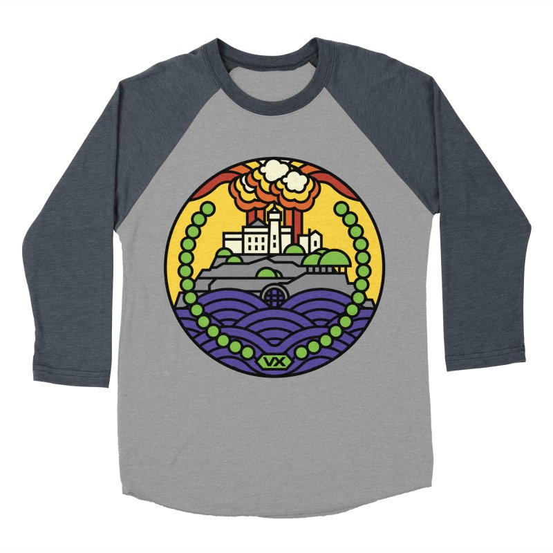 The Rock Men's Baseball Triblend Longsleeve T-Shirt by jasoncryer's Artist Shop