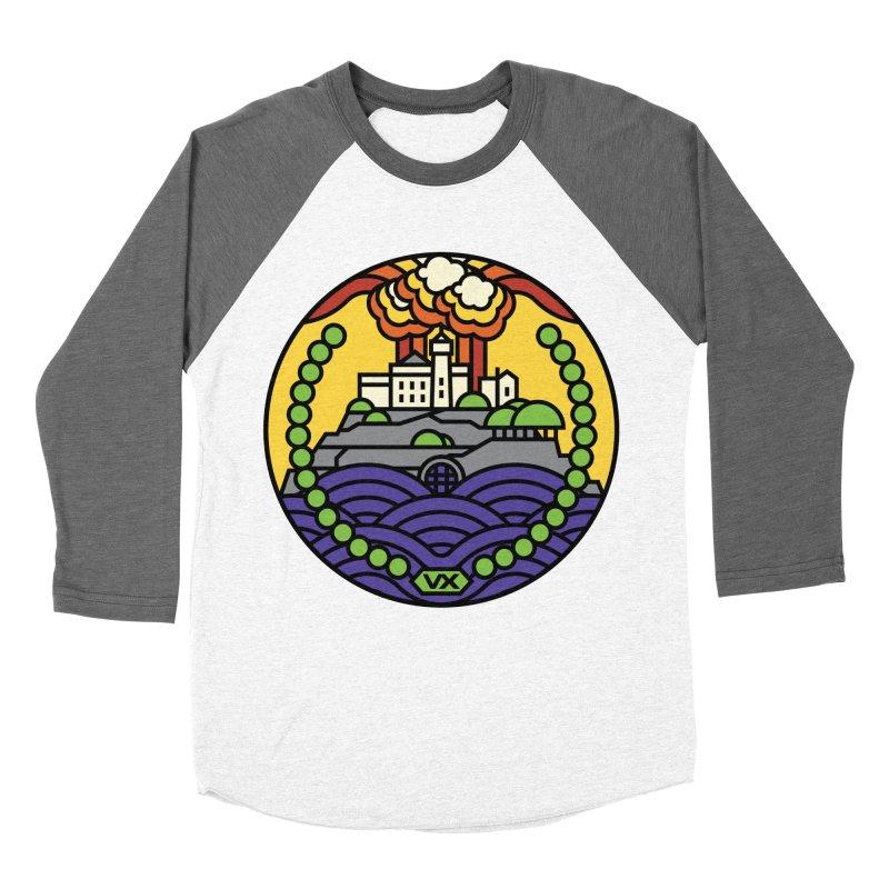 The Rock Men's Baseball Triblend T-Shirt by jasoncryer's Artist Shop