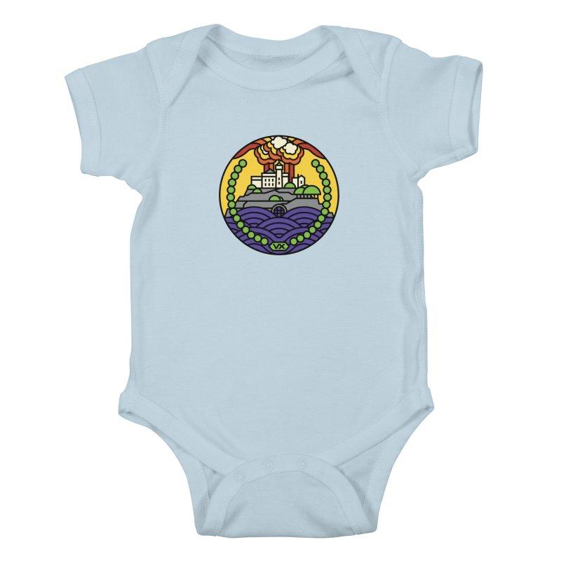 The Rock Kids Baby Bodysuit by Jason Cryer