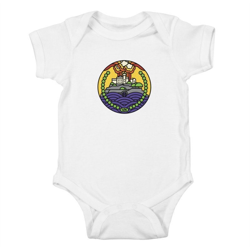 The Rock Kids Baby Bodysuit by jasoncryer's Artist Shop