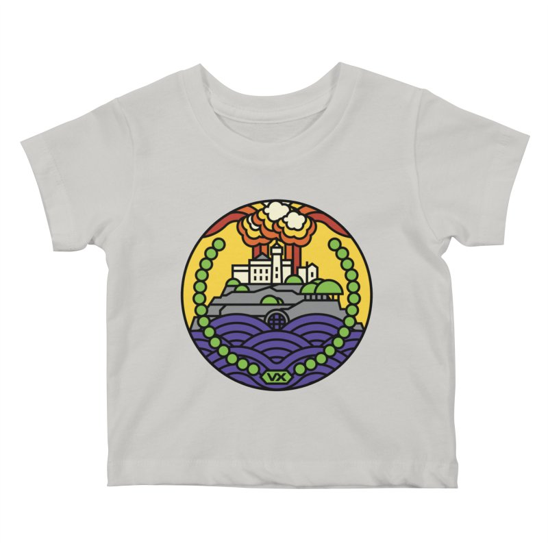 The Rock Kids Baby T-Shirt by jasoncryer's Artist Shop