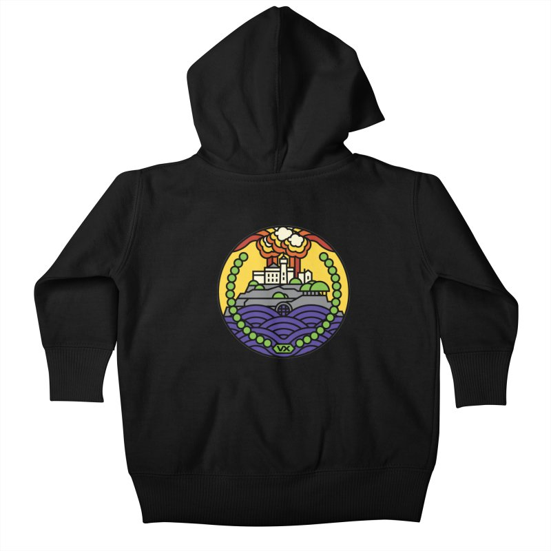 The Rock Kids Baby Zip-Up Hoody by jasoncryer's Artist Shop