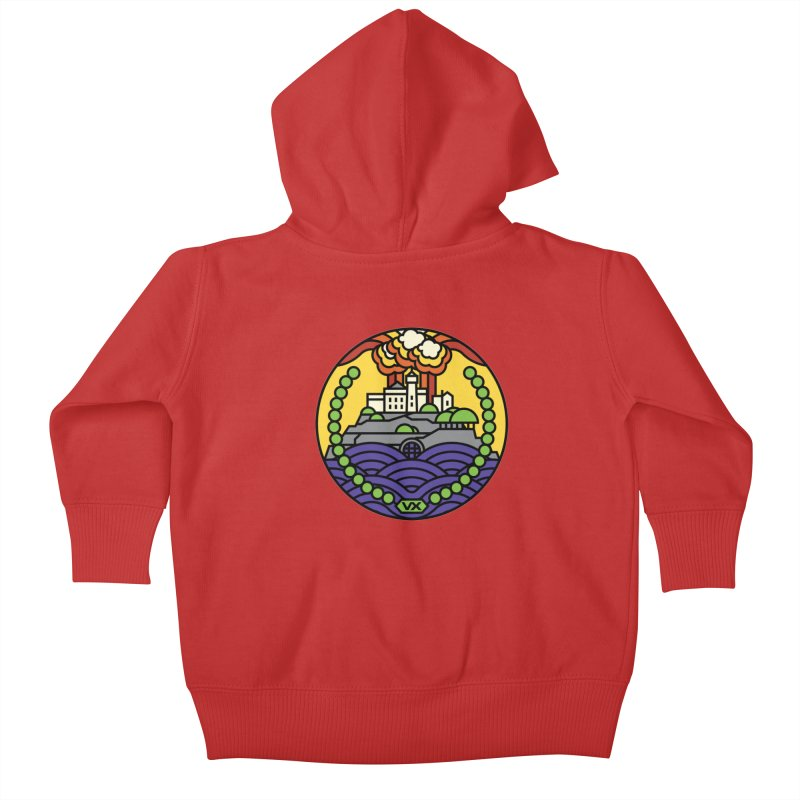 The Rock Kids Baby Zip-Up Hoody by Jason Cryer