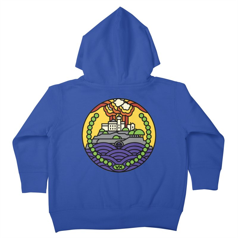 The Rock Kids Toddler Zip-Up Hoody by jasoncryer's Artist Shop