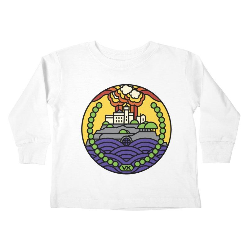 The Rock Kids Toddler Longsleeve T-Shirt by Jason Cryer