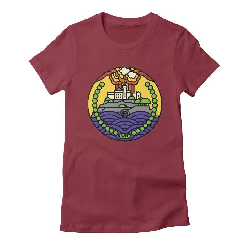 The Rock Women's T-Shirt by jasoncryer's Artist Shop