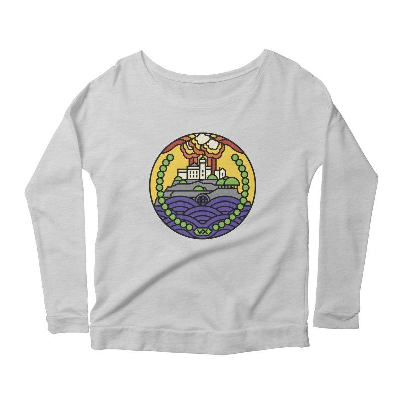 The Rock Women's Scoop Neck Longsleeve T-Shirt by jasoncryer's Artist Shop