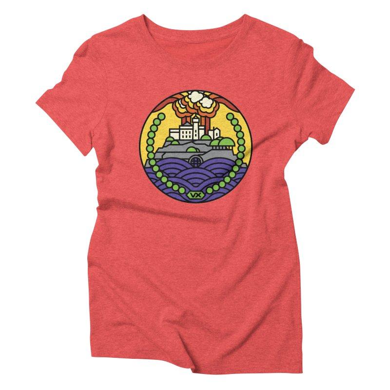 The Rock Women's Triblend T-Shirt by jasoncryer's Artist Shop