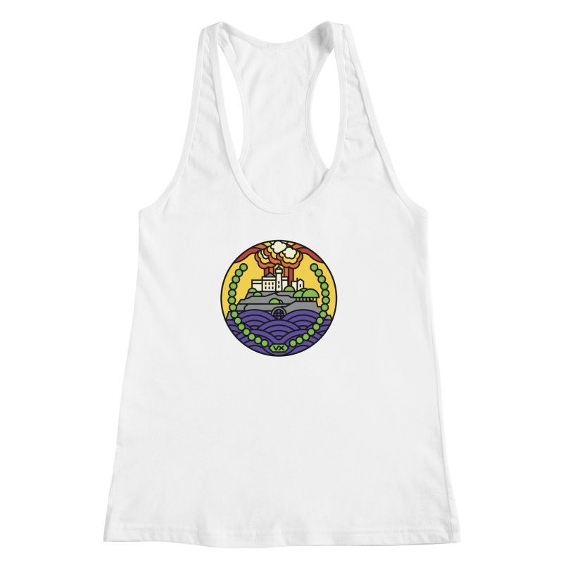 The Rock Women's Racerback Tank by jasoncryer's Artist Shop