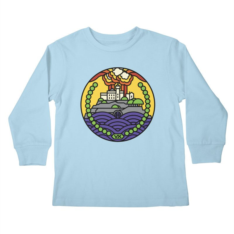 The Rock Kids Longsleeve T-Shirt by Jason Cryer
