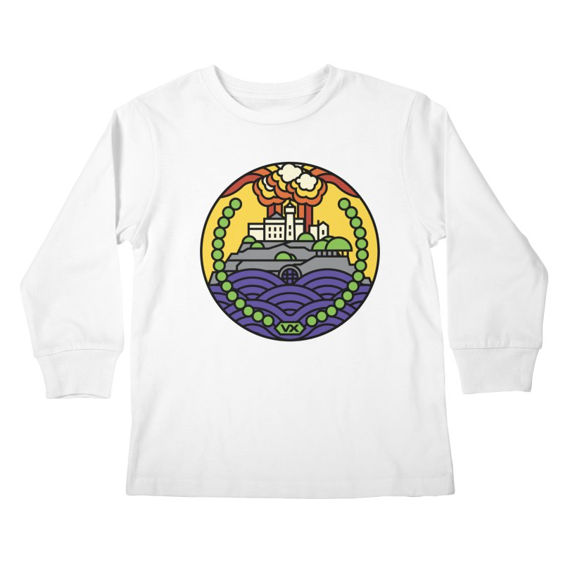 The Rock Kids Longsleeve T-Shirt by jasoncryer's Artist Shop