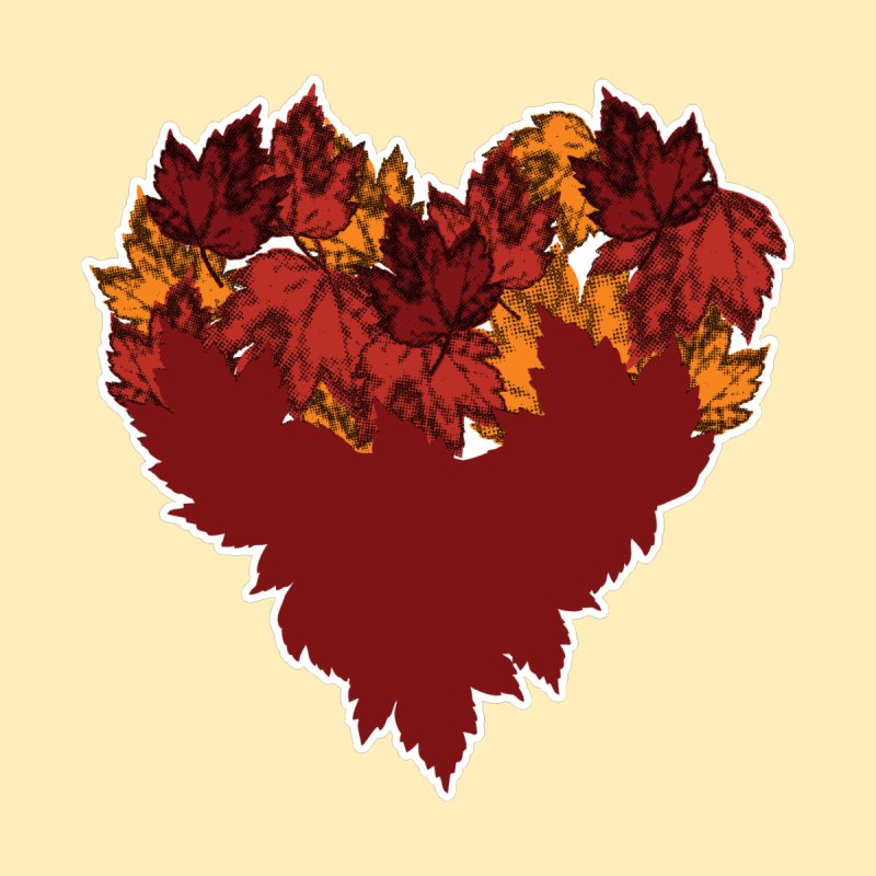 This Autumn Heart Men's T-Shirt by Jason Early's Artist Shop