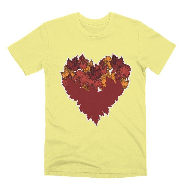 This Autumn Heart Men's T-Shirt by Jason Early's Artist Shop