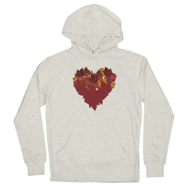 This Autumn Heart Men's Pullover Hoody by Jason Early's Artist Shop