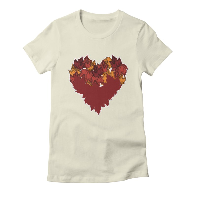 This Autumn Heart Women's T-Shirt by Jason Early's Artist Shop