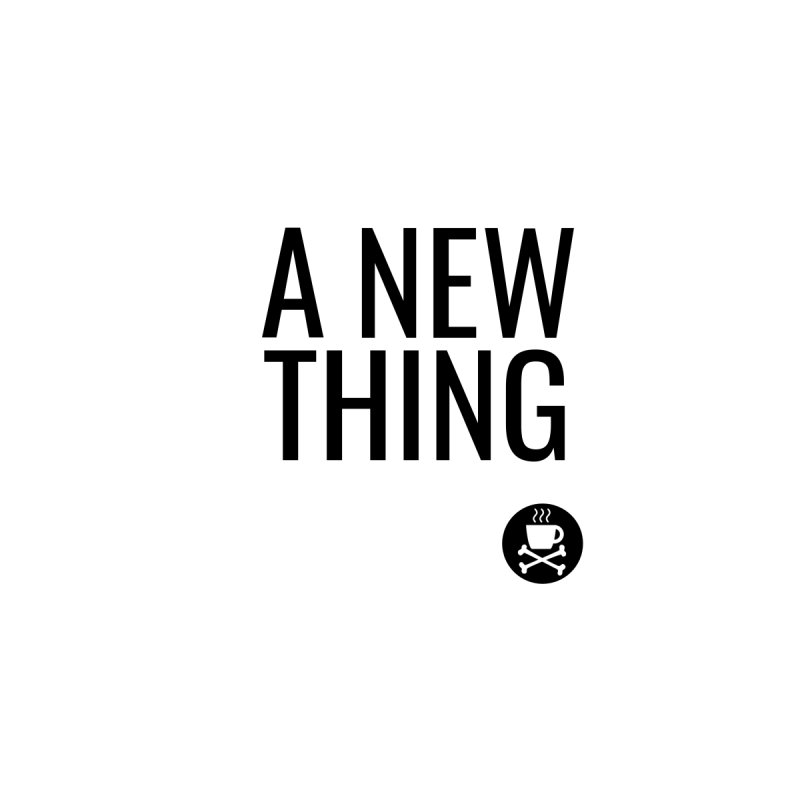 A New Thing sticker Accessories Sticker by Fear The Mug