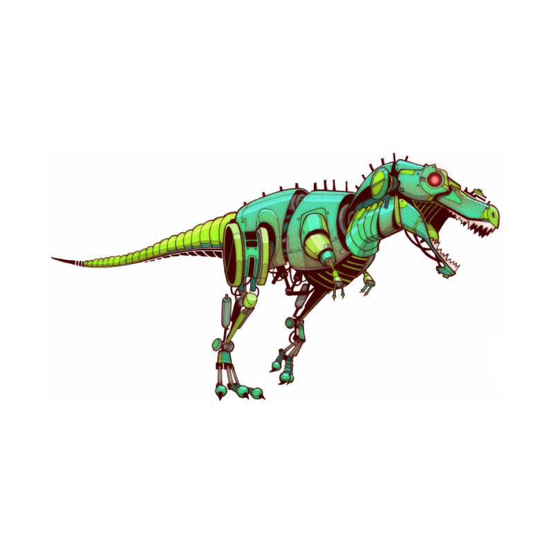 T-REX None  by jasongamber's Artist Shop
