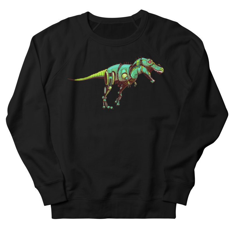 T-REX Women's French Terry Sweatshirt by jasongamber's Artist Shop