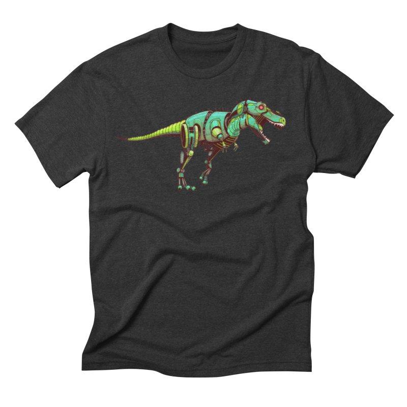T-REX Men's Triblend T-Shirt by jasongamber's Artist Shop
