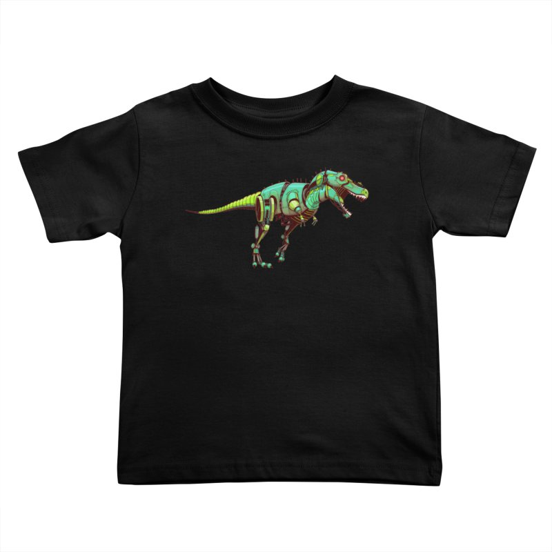 T-REX Kids Toddler T-Shirt by jasongamber's Artist Shop