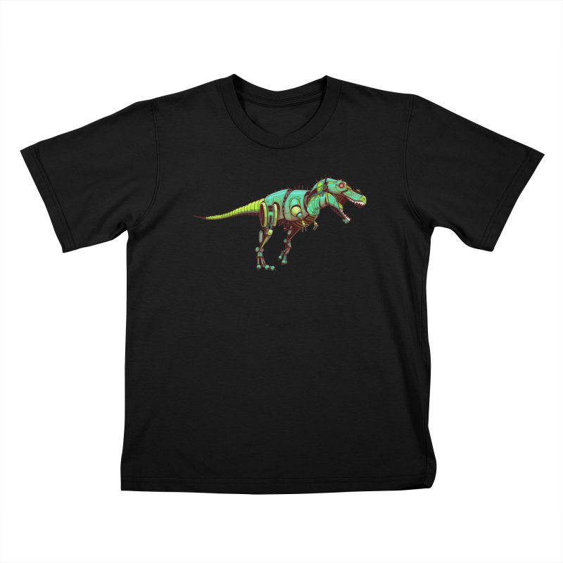 T-REX Kids T-Shirt by jasongamber's Artist Shop