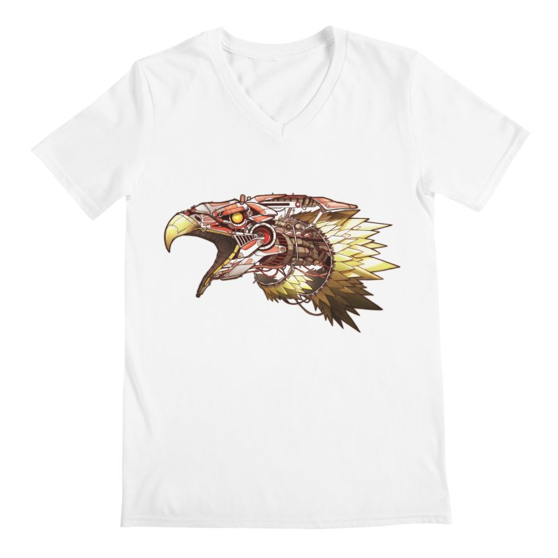 EEagle Men's V-Neck by jasongamber's Artist Shop